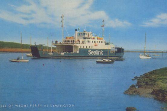 A Salmon. Cameracolour Postcard