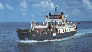 Photo of TSMV Lymington (II) – Past and Present