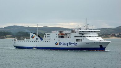 Photo of MV Kerry – Past and Present
