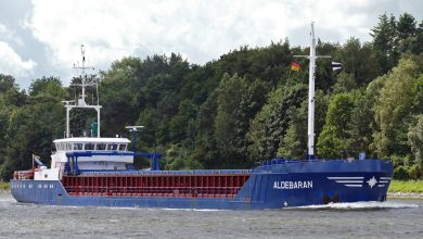 Photo of MV Aldebaran -Past and Present
