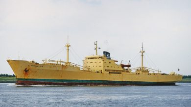 Photo of MV Antarctic – Cargo from the Past