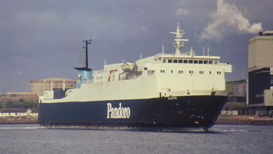 Photo of MV Bison – Past and Present