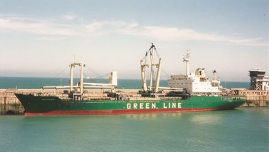 Photo of MV Green Glory – Cargo from the Past