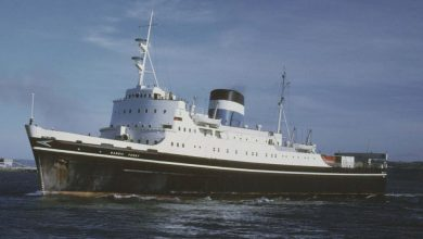 Photo of MV Bardic Ferry – Past and Present