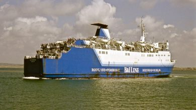 Photo of MV Leinster (1981) – Past and Present