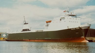 Photo of MV Thomas Wehr – Past and Present