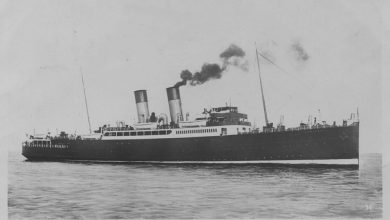 Photo of TS Amsterdam (II) (1930) – Past and Present