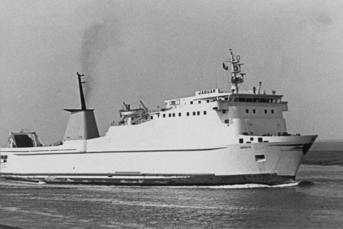 MV Jaguar (Stena Timer) - Past and Present
